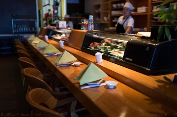 No reservations necessary for our sushi bar seating! Come spend some time with Chef Terry as you watch him prepare sushi and sashimi rolls.